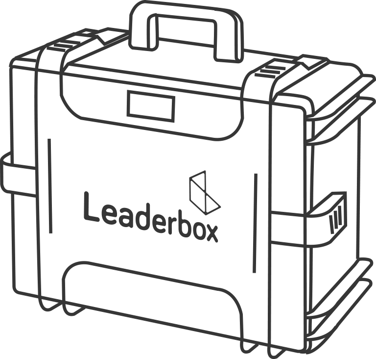 Leaderbox - the outside of the box